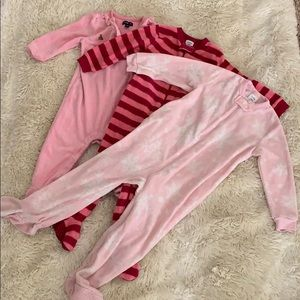 Bundle of baby gap long sleeve one pieces